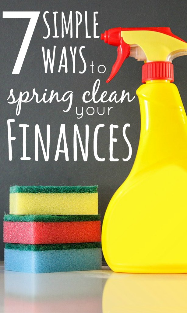 With the new season upon us now is the best time to take back control of your finances and give them a spring clean with these 7 simple but effective tips.