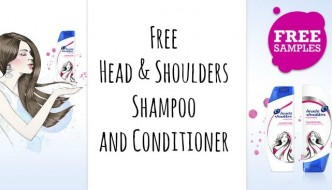 Free Head & Shoulders Shampoo and Conditioner
