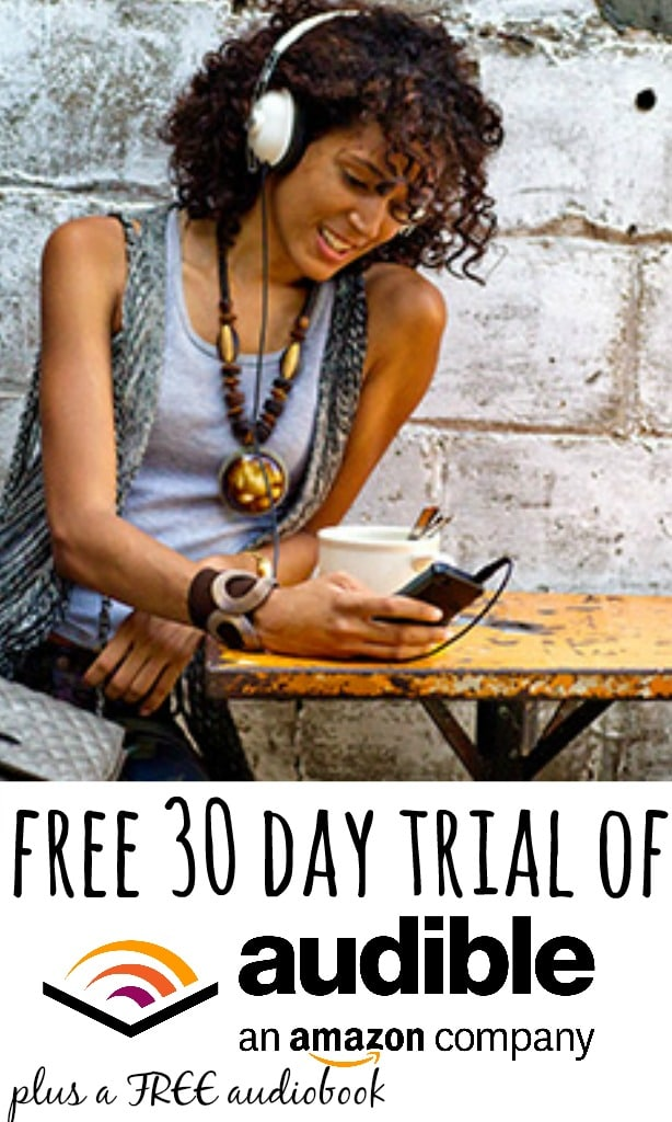 Amazon are running a Audible free trial which gets you 30 days of free access to 150,000+ best sellers as well as giving away a free audiobook which you can keep when the trial ends (even if you cancel!).