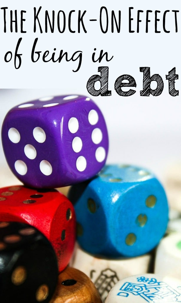 Being in debt effects more than just being able to get credit. Managing your money badly can negatively impact on loads of things in your everyday life too.
