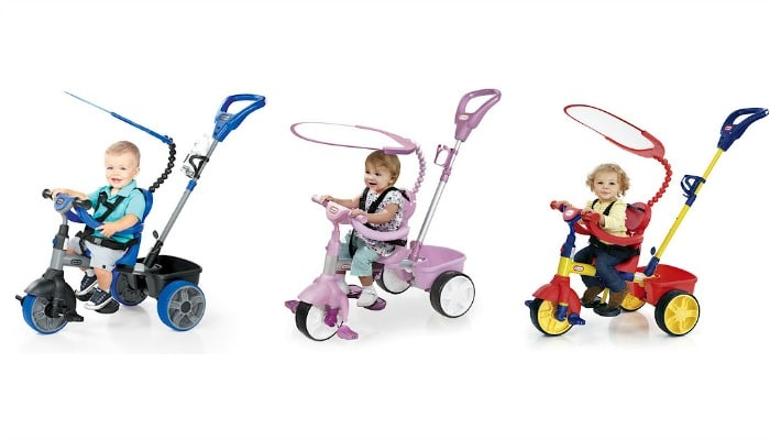 The Little Tikes 4-in-1 Trike from The Entertainer has been reduced by an incredible 30, making it just 39.99!