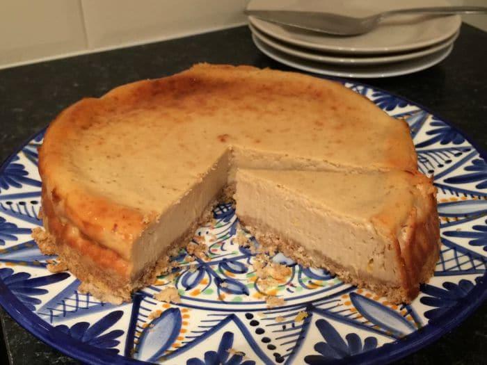 #UseYourLoaf Breadcrumb Baked Lemon Cheesecake