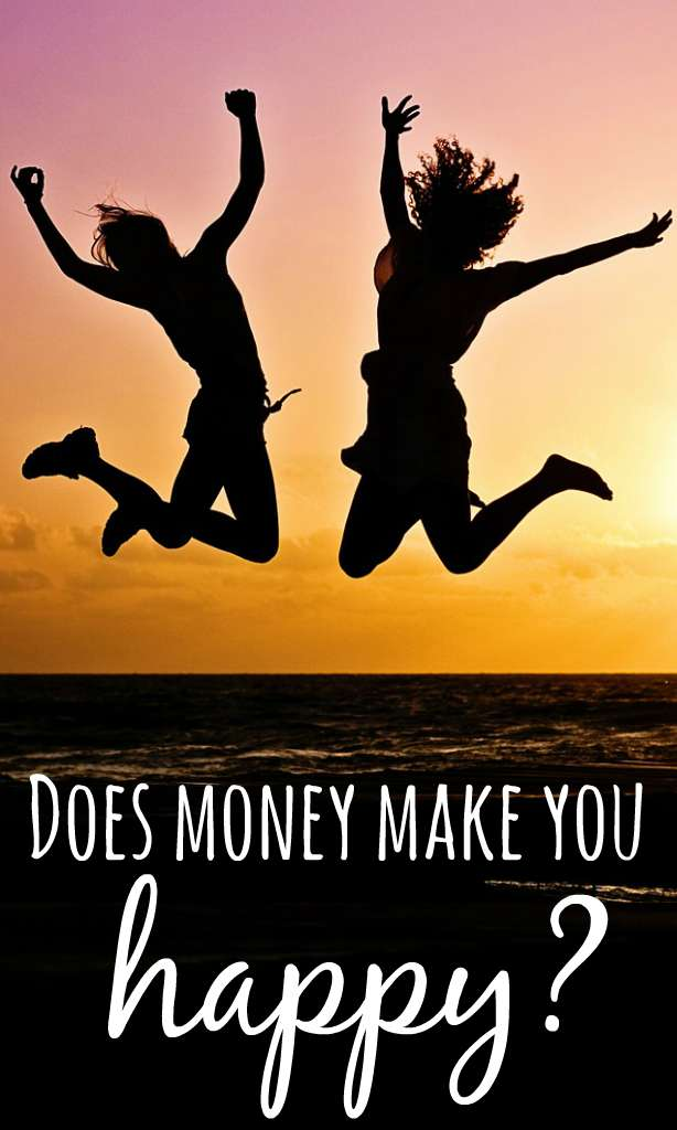 Does money make you happy is a question asked over and over again. According to research, they may have put a finger on how much spare cash happiness is.