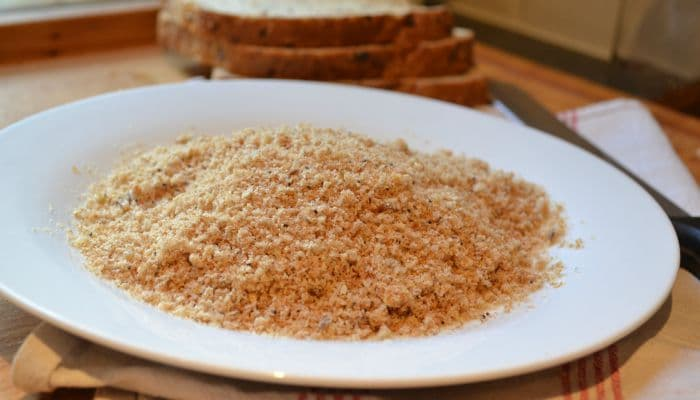 Instead of wasting your bread and throwing it in the bin, use it to make your own breadcrumbs and save a bit of cash in the process.
