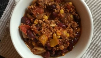 Slow Cooker Turkey Chilli Recipe