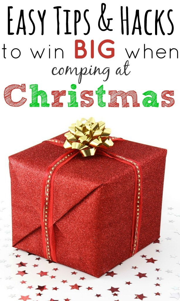 Easy tips and hacks to win big when comping at Christmas