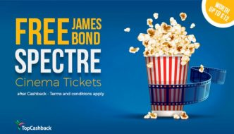Free Spectre Cinema Ticket – Saving Up To £12
