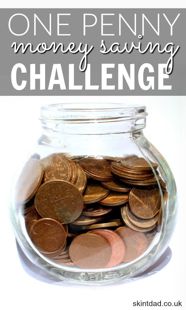 ... challenge, how about trying the one penny money saving challenge
