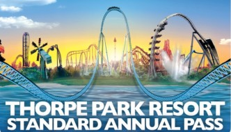 Awesome THORPE PARK Annual Passes Giveaway
