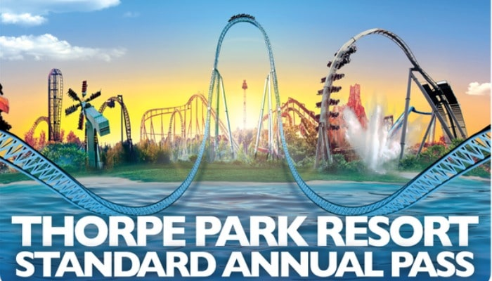 Amazing competition to win THORPE PARK Annual Passes so a family of five can visit THORPE PARK every day this year for free.