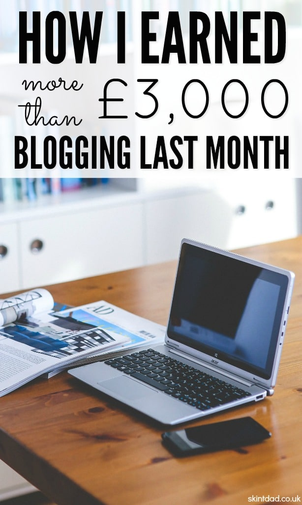 Having started blogging just a few years ago, I'm now making thousands every month. I can show you how I make online income each month and how you can too.
