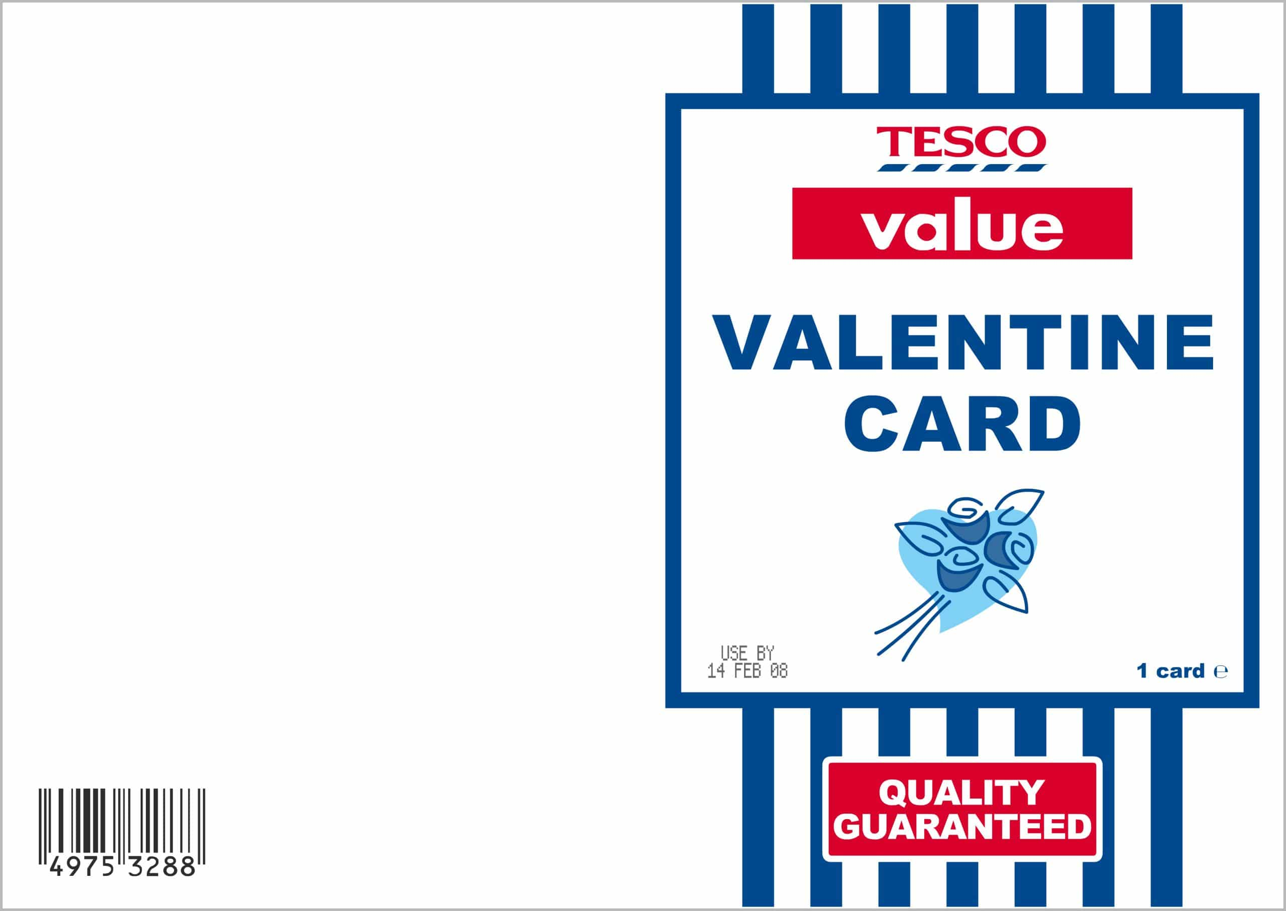 Oh no! You've got no time to get to a card shop for a Valentines or you're skint and can't afford it! No worries, Skint Dad's got your back!