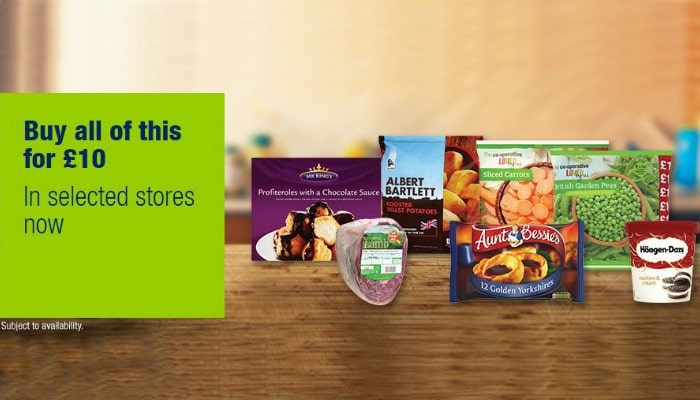Co-op are now selling their latest Easter frozen meal deal at selected stores. The deal gets you a whole meal and pudding for the family for just £10 – but is it worth it?