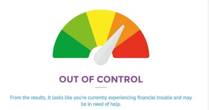 Diagnose Your Debt - out of control