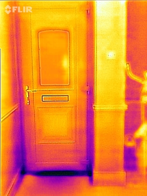 Door Heat Loss : How to stop heat loss and save energy costs skint dad