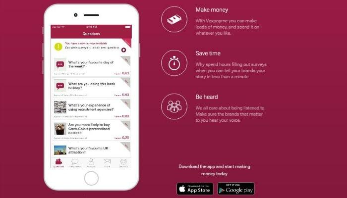 Voxpopme App