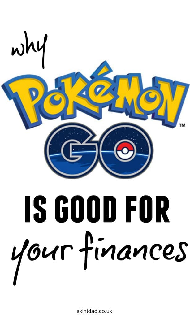 Pokemon Go is good for your finances