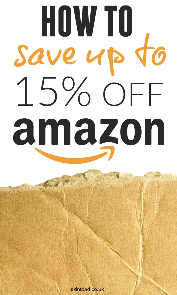 Save up to 15% off Amazon with Flubit