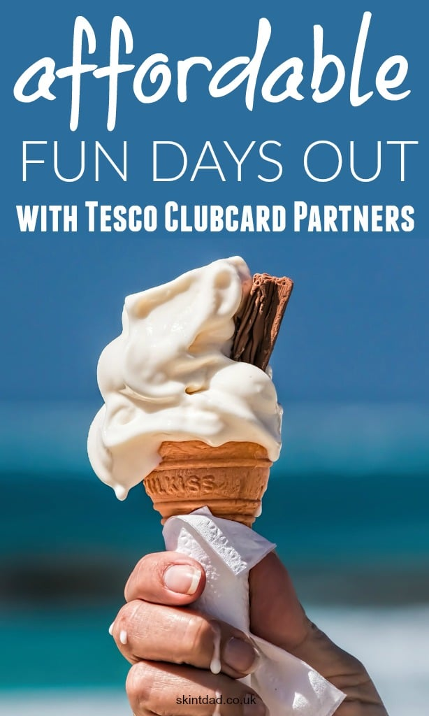 The summer holidays can be expensive, but with Tesco Clubcard vouchers being worth 4x their normal value when used towards one of the many Tesco Clubcard Partners, days out just became that little bit cheaper.