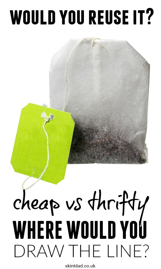 Sometimes it's clear where the line between frugal living and being a cheapskate, tightwad or just downright stingy is. However, sometimes this line can be a bit more blurred.