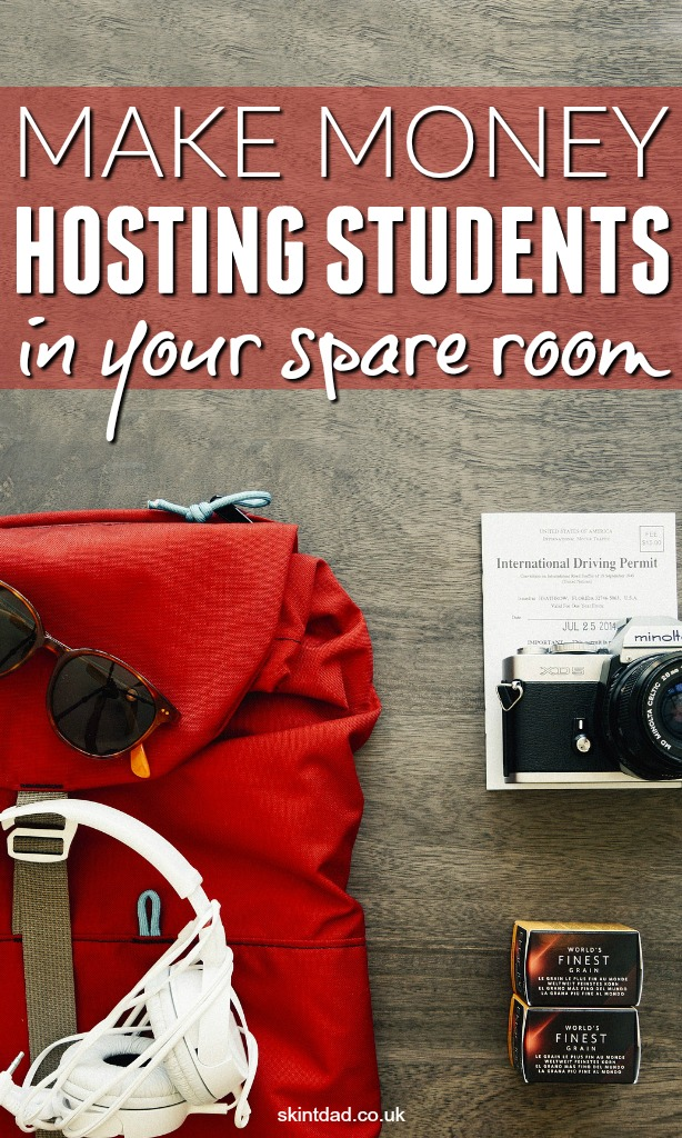 Hosting foreign students is a great tax free way to up your income. The government allows you to earn £7,500 tax free each year or £625 per month.