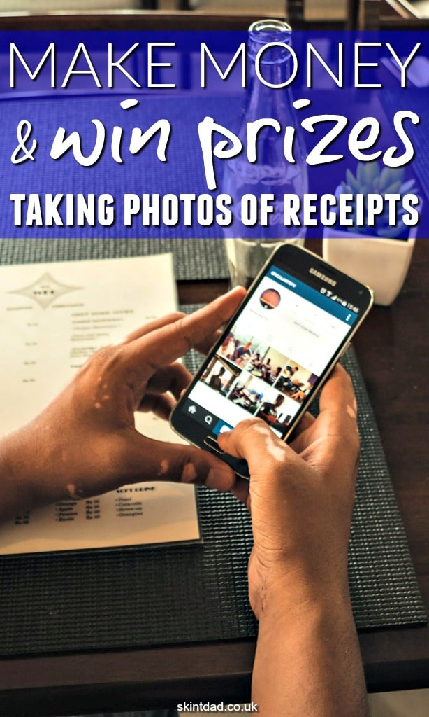 After you've been shopping keep hold of your receipt as it's worth money! Use the Shopprize UK app to turn the bit of paper into money or prizes by simply taking a photo of it!!