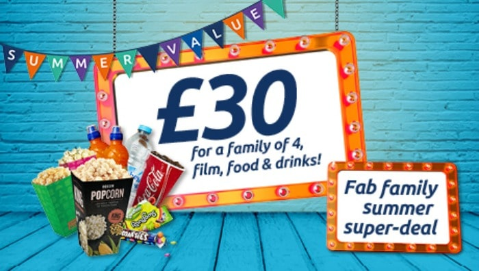 ODEON cinema summer deal