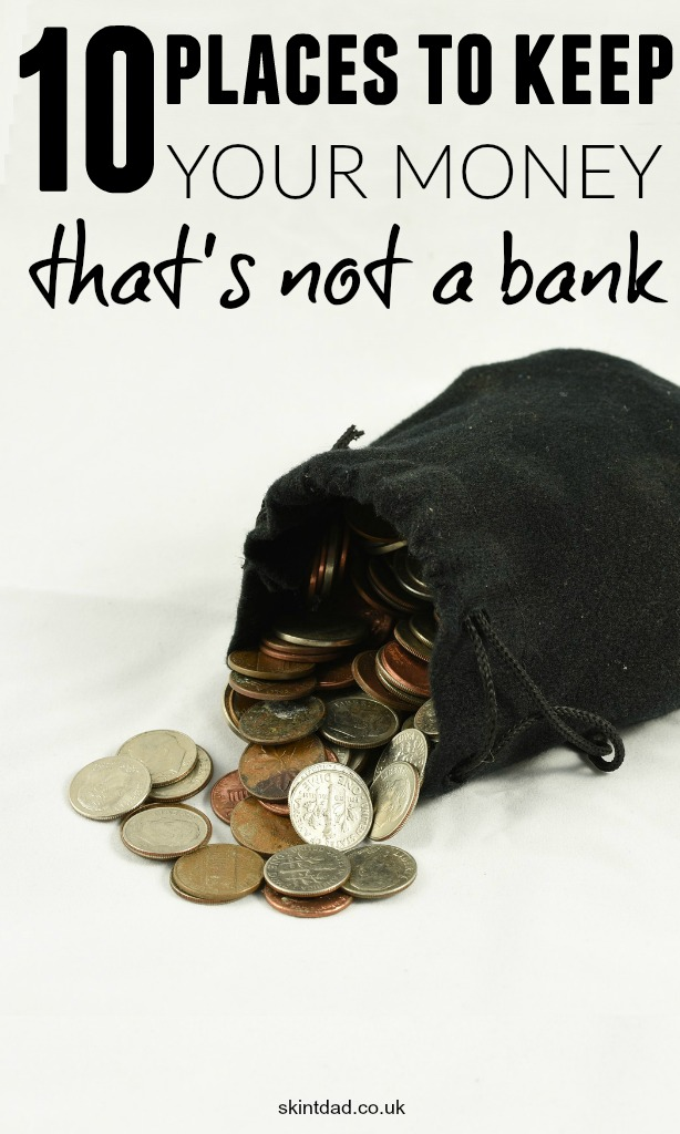 Although a bank can keep your money safe, with low interest rates, they are not the most sought after place to leave your money. Where else can you hide your savings away?