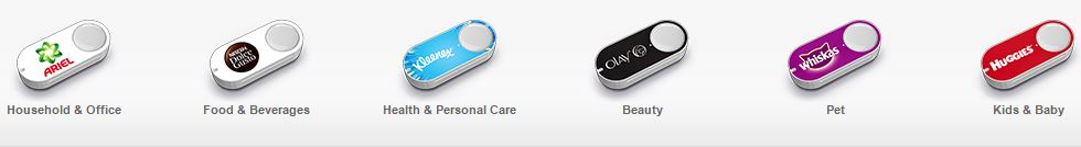 Selection of Dash Buttons