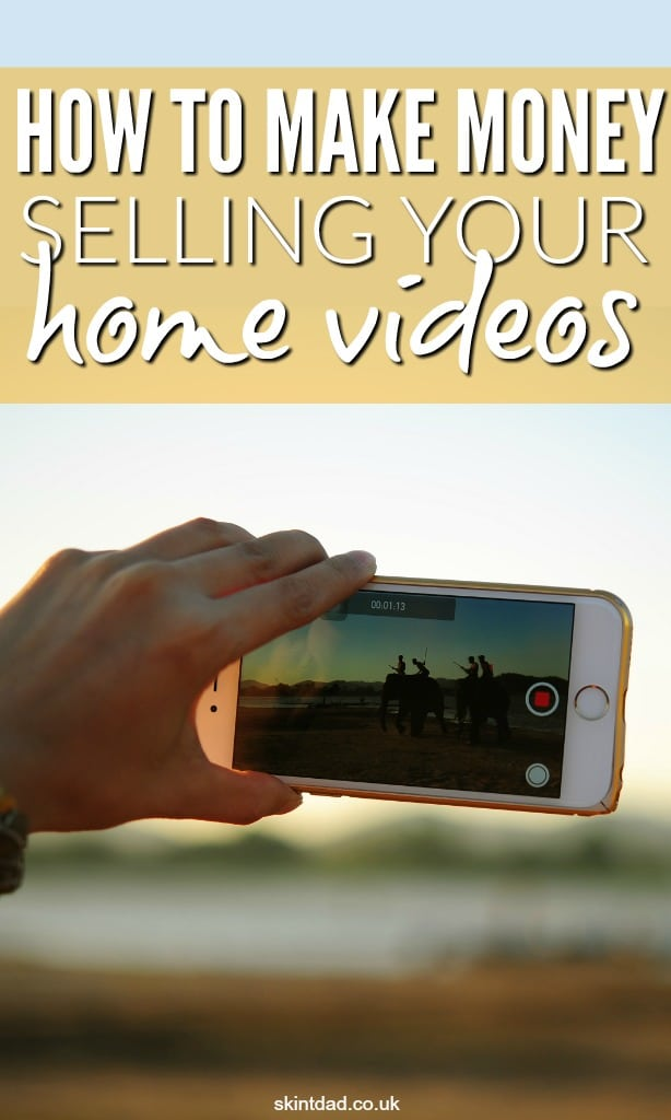 Capturing moment of your kids or pets on a video camera or your mobile phone may be priceless to you, but you can make money selling home videos too.