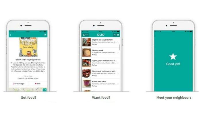 OLIO Food Sharing App