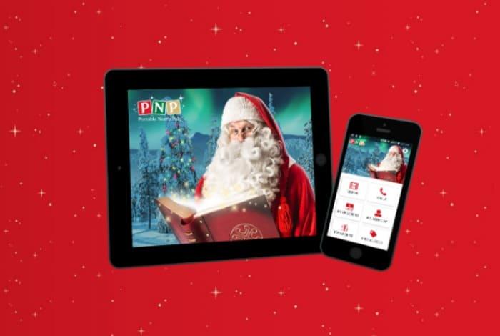 Portable North Pole free video from Santa