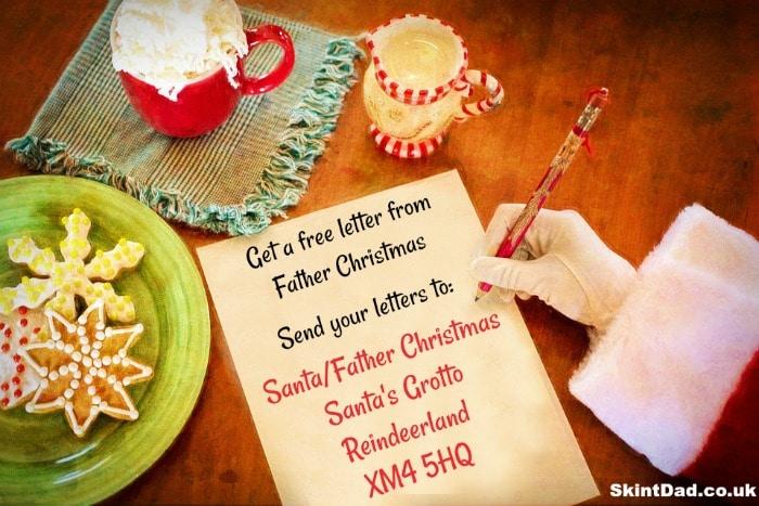 free Santa letter
