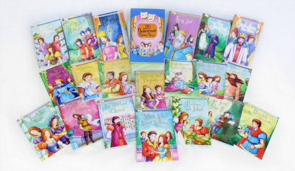groupon-shakespeare-childrens-stories-20-book-complete-collection