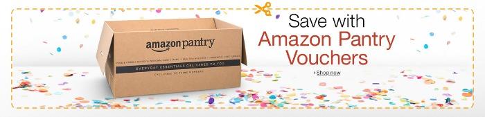 Amazon Pantry discount vouchers