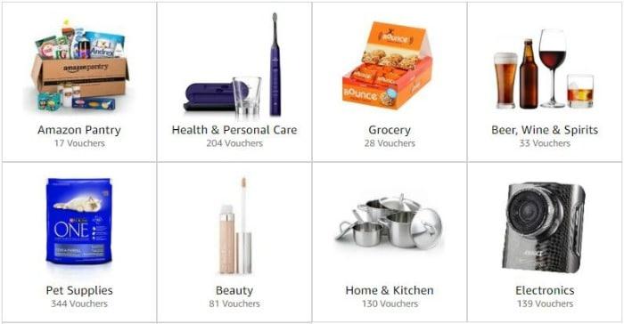 Amazon vouchers supermarket coupons