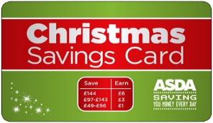Asda Christmas Saving Card