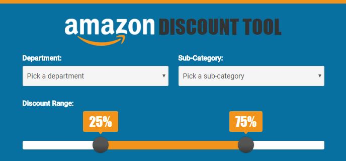 Amazon Discount Tool - 80%+ Savings on Thousands of Hidden Products!