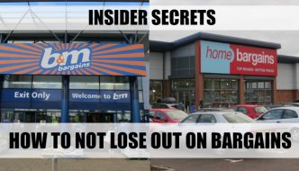 Missing deals in B&M, Home Bargains and ASDA? Use the insiders tips (that have been in front of your eyes the whole time) to not lose out.