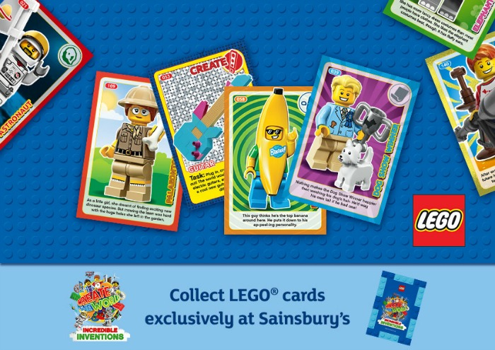 Lego trading cards