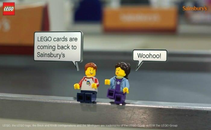 Sainsburys Lego cards