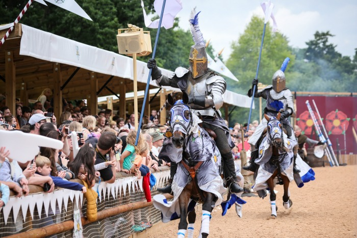 Warwick Castle - War of the Roses Knights