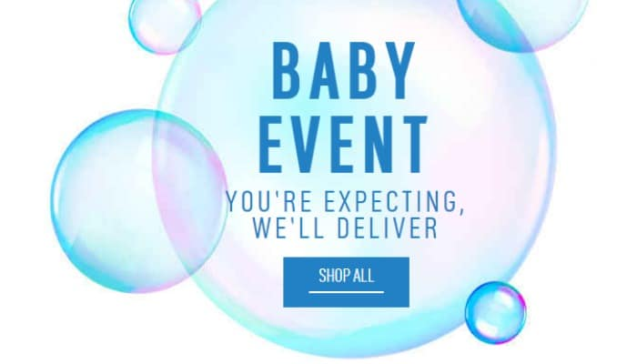 6050a7055 Sainsbury's Baby's Big Event Has Started (With Nappies Cheaper Than ...