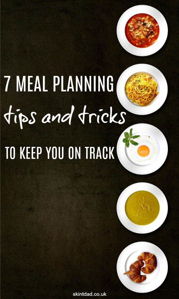You've got your meal plan down to a T, but boredom sets in or things just start going wrong! These meal planning tips and tricks should help keep you on track.