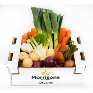 Morrisons Market St Organic Veg Selection Box