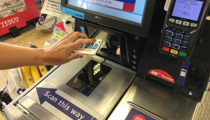 Paying with Tesco Pay Plus
