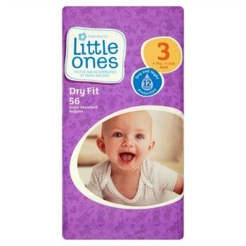 Sainsburys Little ones nappies