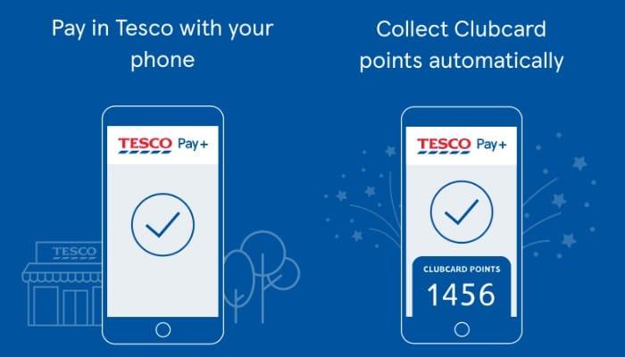 Using Tesco Pay Plus