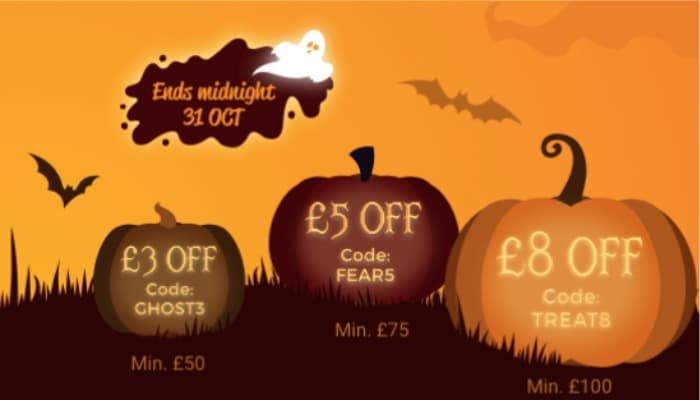 Zeek promotional codes for Halloween