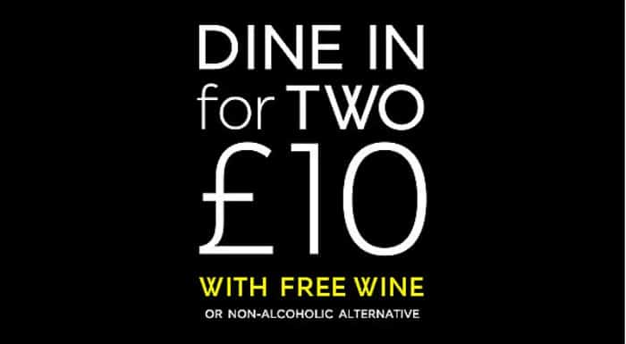 M&S Dine In - 2 for £10